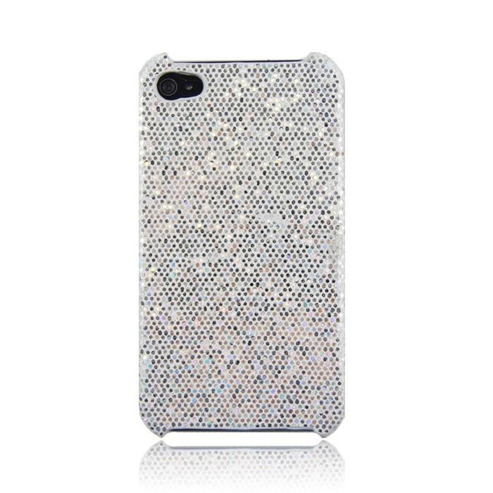iphone 6 plus skal silikon glitter vitt gummi för bling stilrent ... 91624388b9d0a