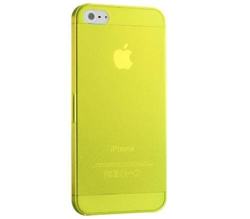 Matte Slim - Gul - iPhone 5 skal - Macskal c1966d3b4f081