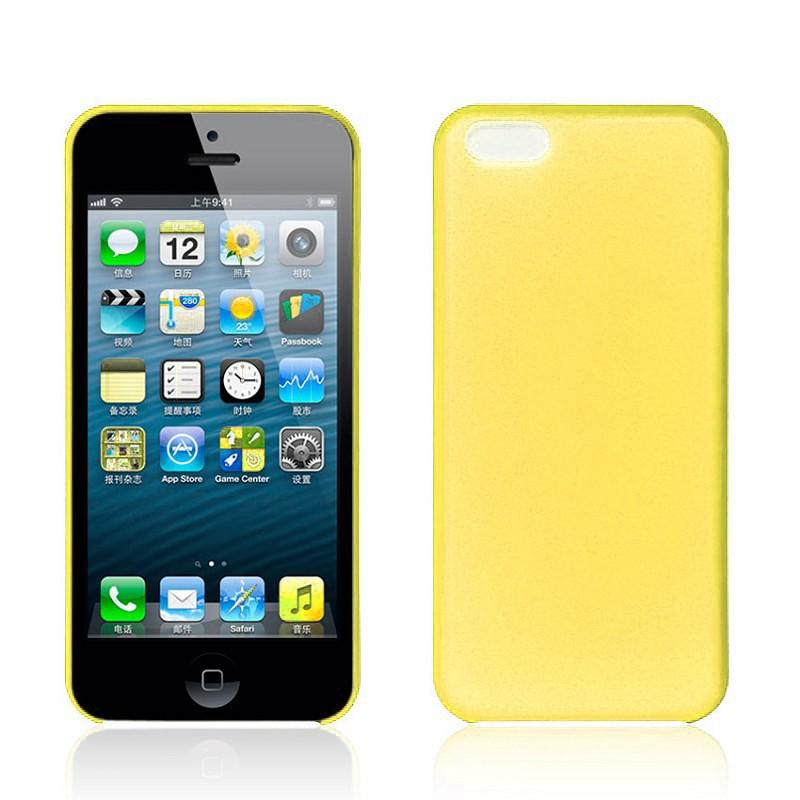 Matte Slim - Gul - iPhone 5C skal - Macskal 1f7ecd9e38f98