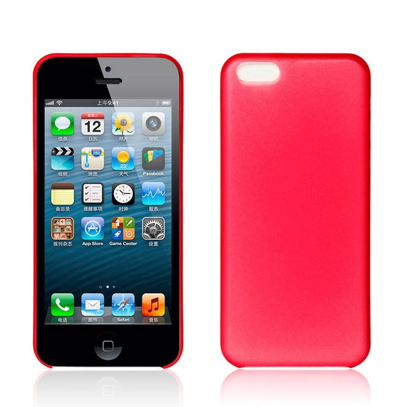 Matte Slim - Röd - iPhone 5C skal - Macskal 39eac503f25ab