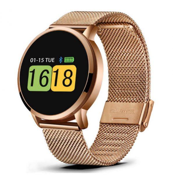 E20 Smartklocka med Bluetooth - Guld