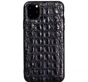 Croco – iPhone 11 Pro Max skal - Svart