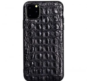 Croco – iPhone 11 skal - Svart