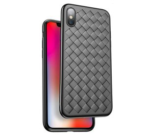 Braided iPhone X – Svart