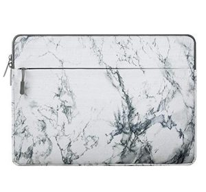 "Laptopfodral 15"" - White Marble"