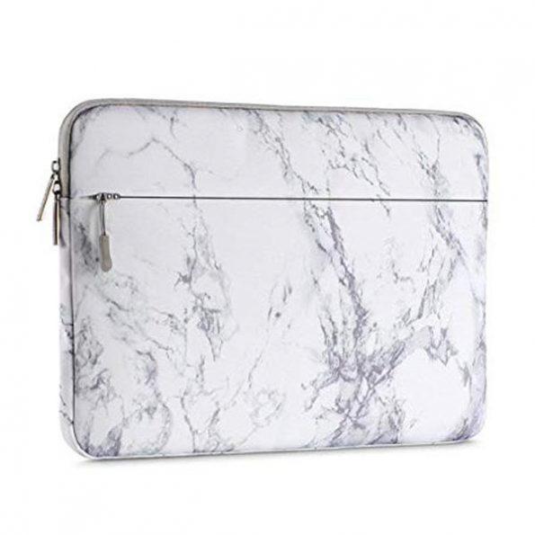 "Laptopfodral 13"" - White Marble"