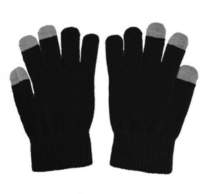 Touch Gloves - Svart