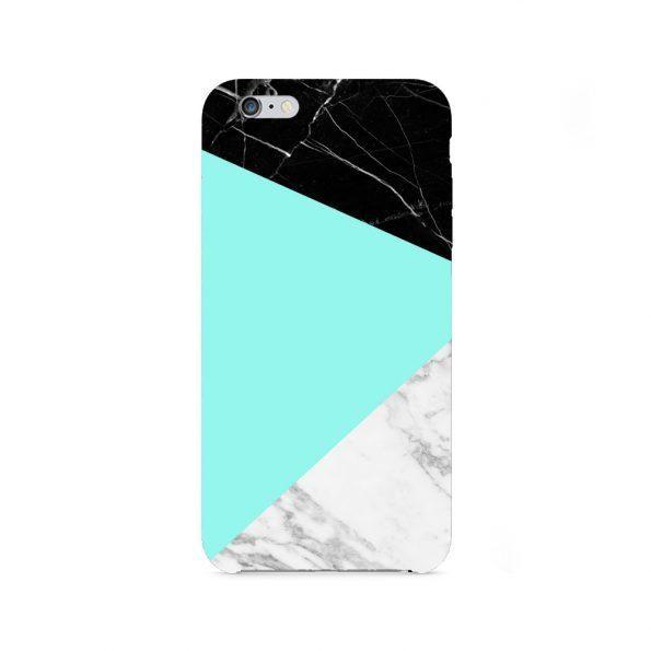 Granite Marble - iPhone 8 skal - Green