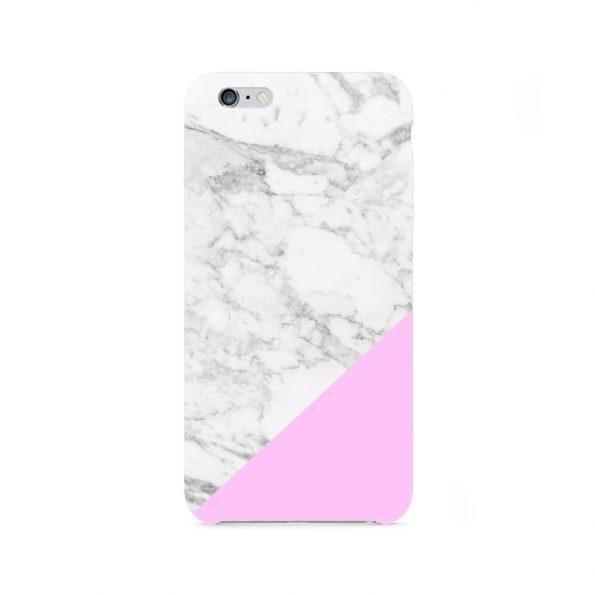 Granite Marble - iPhone 8 skal - Pink