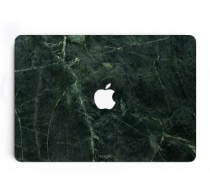 "MacBook skin 12"" - Green Marble"