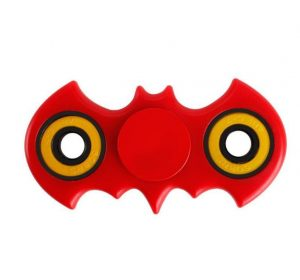 Bat Fidget Spinner - Röd