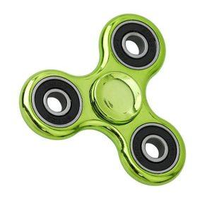 Fidget Spinner Chrome - Grön