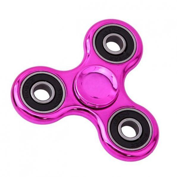 Fidget Spinner Chrome - Rosa