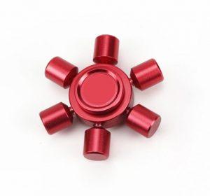 Luxury - Fidget Spinner - Röd