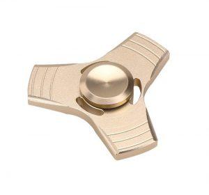 Fidget Spinner - Aluminium - Guld