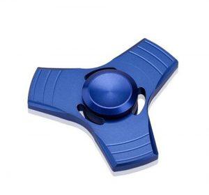 Fidget Spinner - Aluminium - Blå