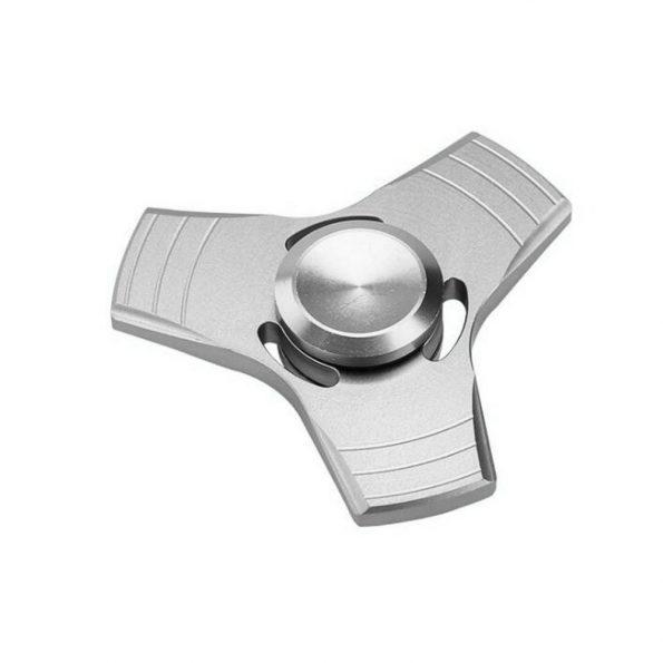 Fidget Spinner - Aluminium - Silver