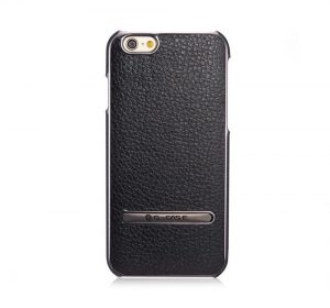 Luxury Stand Case - Svart - iPhone 6