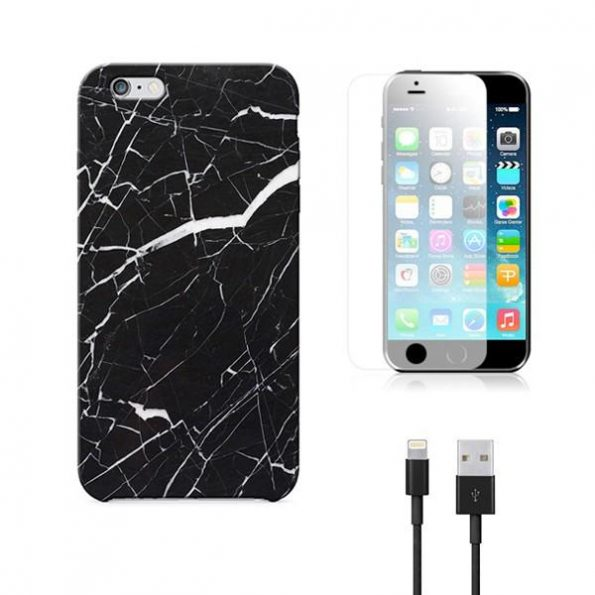 Marble Pack - Black - iPhone 7