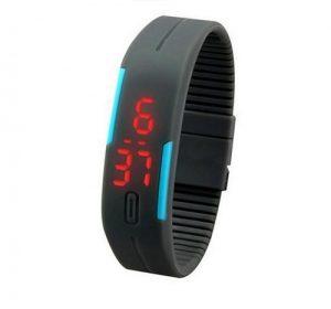 Silicone Watch - Svart