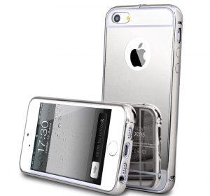 Mirror - Silver - iPhone 7 Plus skal