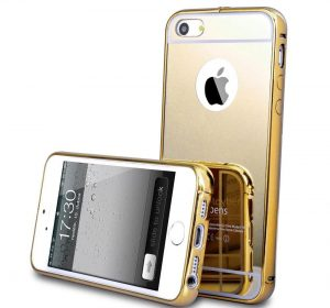 Mirror - Gold - iPhone 7 Plus skal