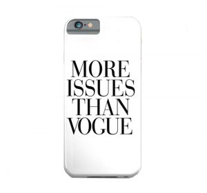 DO Vogue - iPhone 7 skal