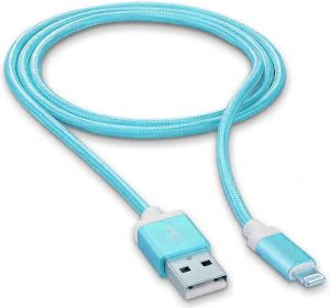 Braided Deluxe - Blue - Lightning kabel