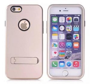 Stand Case - Guld - iPhone 6 skal