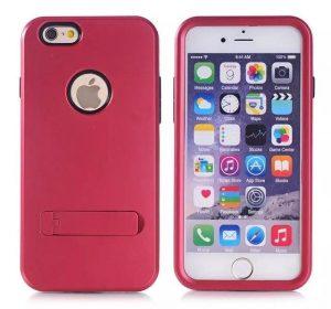 Stand Case - Röd - iPhone 6 skal
