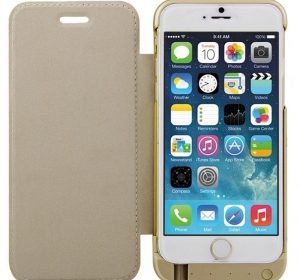 PowerCase Deluxe - Guld - iPhone 6 Plus