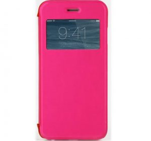 iPhone 5C Window - Rosa - Fodral