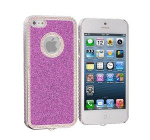 Diamond Bling - Purple - iPhone 5C skal