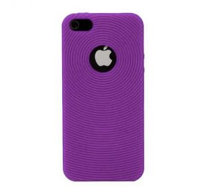 Silicone - Lila - iPhone 5 skal