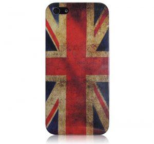 Vintage United Kingdom - iPhone 5 skal
