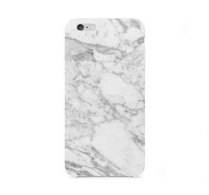 White Marble - iPhone 6 Plus skal