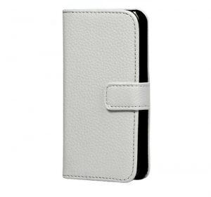 iPhone 6 Plus Läderplånbok - Vit