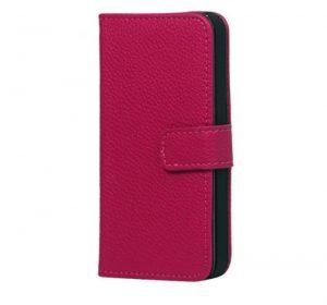iPhone 6 Plus Läderplånbok - Rosa