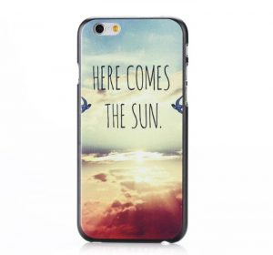 DO Here Comes The Sun - iPhone 6 skal