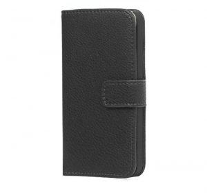 iPhone 6 Läderplånbok - Svart