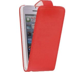 FlipCase - iPhone 6 Plus - Röd
