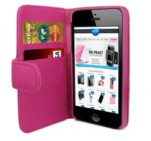 iPhone 6 Plånbok - MS iWallet - Rosa