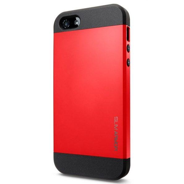 Slim Armor - Röd - iPhone 6