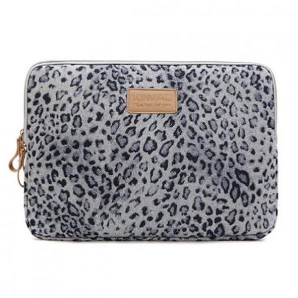 "Leopard Grey - MacBook Fodral 13"""