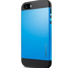 Slim Armor - Blå - iPhone 5/5S