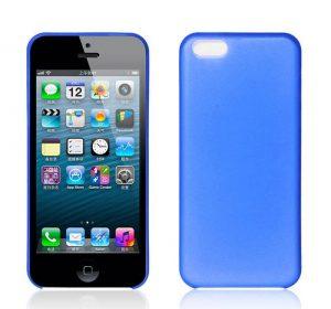Matte Slim - Blå - iPhone 5C skal