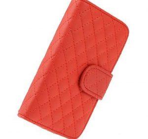 DeluxeWallet - iPhone 5 - Röd