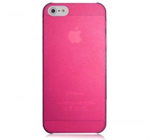 Matte Slim - Rosa - iPhone 5 skal