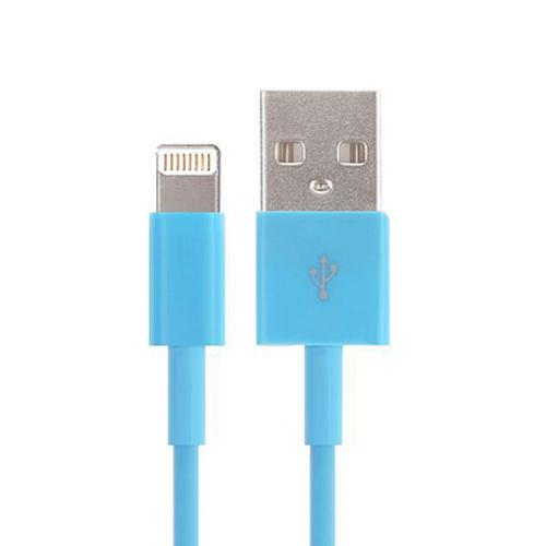USB - Lightning kabel - Blå