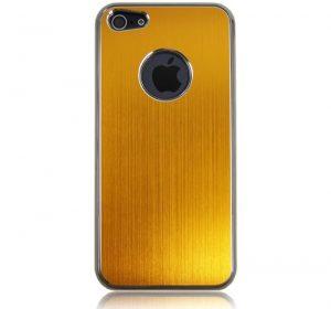 Metal - Guld - iPhone 5 skal